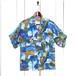 1950年代製 / ビンテージアロハシャツ / ピクチャー柄 / size M