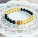 【LADYLIKE Yellow×Black】パワーストーン ブレスレット レディース 天然石 シトリン オニキス[送料無料]