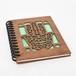 木のノートブックK ハムサ(木製ルーズリーフ)