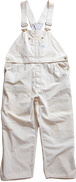 CHAHCHAH×LEE 2WAY OVERSIZED OVERALLS - IVORY
