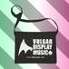 【 suzuri支店 】Vulgar Display Music サコッシュ
