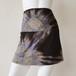 (Sサイズ)3WAY ショートスカート薄手 ブラウン・サークル [YS.02RL/L-TD.020]
