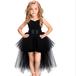 8451子供ドレス キッズ ベビー ジュニア 女の子ドレス フォーマルドレス パーティードレス チュール 80cm-140cm