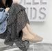レディース ミュール サンダル かかとなし スクエアトゥ ローヒール 合皮 革 履きやすい 春夏 ベージュ 緑 グリーン カーキ 美脚 脚長 韓国