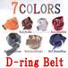 D-RING Dリング ダブルリング キャンバス ベルト 7色 B系 ストリート系 ヒップホップ ギャング マフィア スケーター パンク ロック sk8 バイカー 西海岸 154