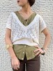 (TOYO) v-neck knit vest
