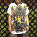 アジアンTシャツ(ガネーシャ /ホワイト /メンズM,L,XL)【レディースOK】