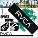 AJ041-993 ルーカ タオル ビーチタオル フェイスタオル スポーツタオル 黒 ブラック ロゴ 人気ブランド ユニセックス プール 海 レジャー ギフト プレゼント SPORT TOWEL RVCA