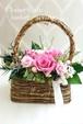 Pink Basket arrangeキット