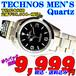 テクノス 紳士 クォーツ TSM208SB 定価¥38,500- (税込) 新品です。
