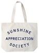 ビッグキャンバスバッグ Sunshine Appreciation Society