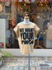 KIDS:GROOVYCOLORS【グルービーカラーズ】天竺WE WANT YOUR OPINION TEE(ベージュ/130,140cm)Tシャツ