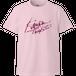 【オフィシャルTシャツ】禁断の多数決初期ロゴピンク・Tシャツ
