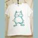 コロナに負けないょ企画!送料無料★にゃおす。Tシャツ・Men's size   S・M・L