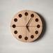 木の時計マル(Φ240) No18 | クルミ【針、選択可】