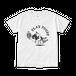 PUGBY Tシャツ(白)トライMONO ver.   TPUGBYM-UW1
