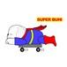 Superwanステッカー 【ペキニーズ】 犬 ステッカー シール