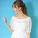 袖付きツーピースドレス