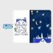 Android Mサイズ  星の花降る夜に 手帳型スマホケース