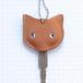 【送料無料】猫の本革キーカバーM KCM101