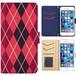 全機種対応 手帳型ケース iPhone Xperia Zenfone Aquos Galaxy Arrows Huawei Digno Raijin JDC268plaid