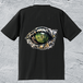 Alligator-eye Tシャツ/ブラック*メンズ【色鉛筆手描きデザイン】