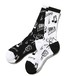 ONPU SOCKS (BLACK & WHITE) / RUDE GALLERY