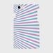 【名入れ可】iPhoneケース・スマホカバー(白木目・マリンボーダー・青紫系)側表面印刷スマホケース 側表面印刷スマホケース iPhone7 ツヤ無し(マット)