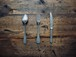 Small Cutlery 3set / Aluminium / FRANCE 1960