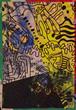 美/上毛町で制作の作品「ゾウリムシ第一世代#11」を送ります!