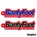 BantyFoot オフィシャル ラバーキーホルダー