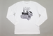 """ HOUSE OF ""  L/S TEE SH   -WHTxBLK-"