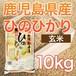 令和元年産 鹿児島県産ヒノヒカリ 【玄米】 10kg ★送料無料!!(一部地域を除く)★