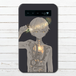 #038-005 モバイルバッテリー おしゃれ ノスタルジー かわいい ファンタジー  iphone スマホ 充電器 タイトル:充電 作:煙犹