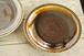 飴色の鎬皿(8寸)