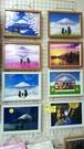 A4サイズのポストカードの絵