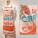 スモールエプロン チーズ&チアーズ Tissage Moutet/PATRICK LEBAS(パトリック・レオン)