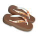 "GETA Sandals ""NADESHIKO"" Lady's Brown"
