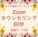 Zoomカウンセリング60分