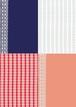 ■リリース記念4種類set A4用紙 033-036【lace】5枚×4種 1500円