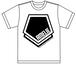ペンタゴンTシャツ【ホワイト/Sサイズのみ】