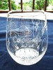 手彫りのグラス「コスモス」グラスの中に広がる宇宙