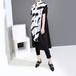 モード系 ロングシャツ 半袖 ビッグシルエット バイカラー 大人きれいめ 海外デザイン カジュアル 韓国 オルチャン 原宿系 20代 30代