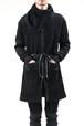 17AW Highneck Zipper Knit Coat