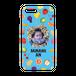 iPhonePlus・Android Lサイズ フルーツハードケース color:ブルー