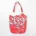 唐草牡丹のミニトート(マチあり) Mini tote bag(Arabesque & peony pattern)