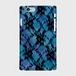 レースフラワー【Blue×Aquablues】ハードケース iPhone/Android
