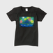 「蛍と花火」レディースTシャツ