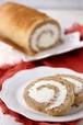 低糖質キャロットケーキロールケーキ・Keto Carrot Cake Roll