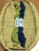 つづれや草木染め木綿糸10本どり2色セット